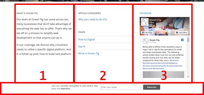 Footers WordPress